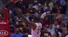 LeBron James throws it down vs. the Hawks