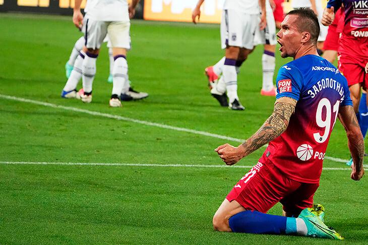 Заболотный забил за ЦСКА – спустя 4277 дней с первого матча в заявке. Вот история его упорства