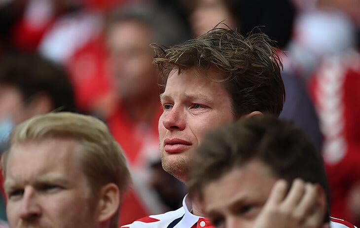 Как болельщики в Копенгагене ждали новостей об Эриксене. Эмоции и слезы тех страшных минут