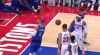 Kristaps Porzingis slams it home