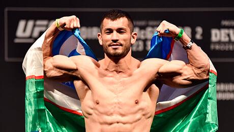 Восходящая звезда UFC из Узбекистана