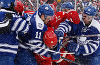 Зимняя классика, НХЛ, Детройт, Торонто
