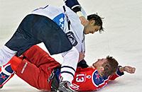 Самая жуткая драка хоккейного сезона