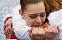 Аделина Сотникова, фото, сборная России, Сочи-2014