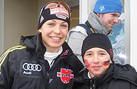 Маленький фанат стал биатлонистом и выиграл медаль юношеской Олимпиады