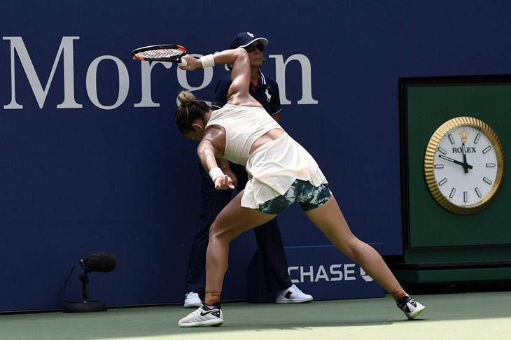 Первая ракетка мира вылетела с US Open в первом круге. Впервые в истории