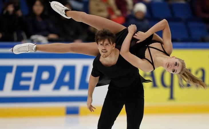 Степанова и Букин – сама страсть на льду
