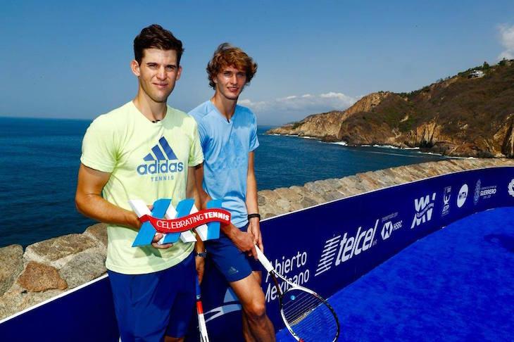 Теннисисты кайфуют в Акапулько. Там идеальный корт у океана