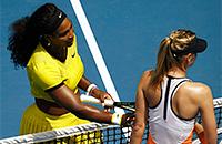 Мария Шарапова, Серена Уильямс, Australian Open, WTA