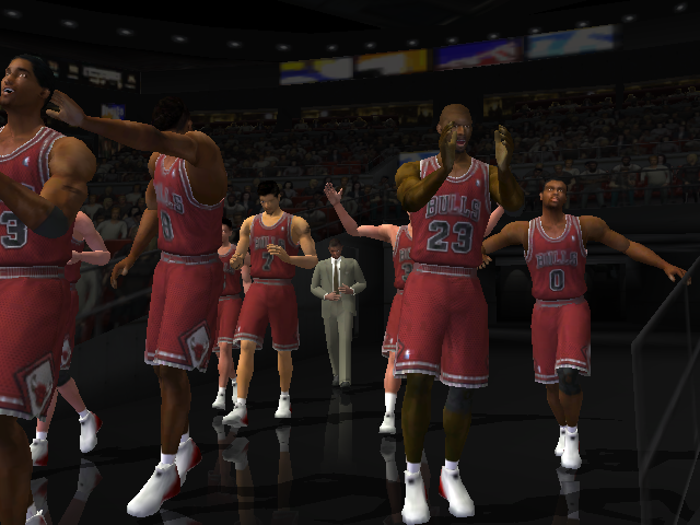 The Lastest Dance. Дорога к седьмому титулу Джордана и Пиппена в NBA Live 2003