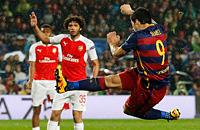 Барселона, Лига чемпионов, Арсенал, видео, Луис Суарес