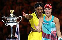 Серена Уильямс, Australian Open, WTA, Анжелик Кербер