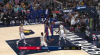 Andre Drummond Blocks in Indiana Pacers vs. Detroit Pistons
