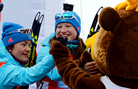 Подчуфарова – Вирер: 0,6 секунды на финише
