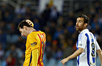 Барселона, Реал Сосьедад, примера Испания