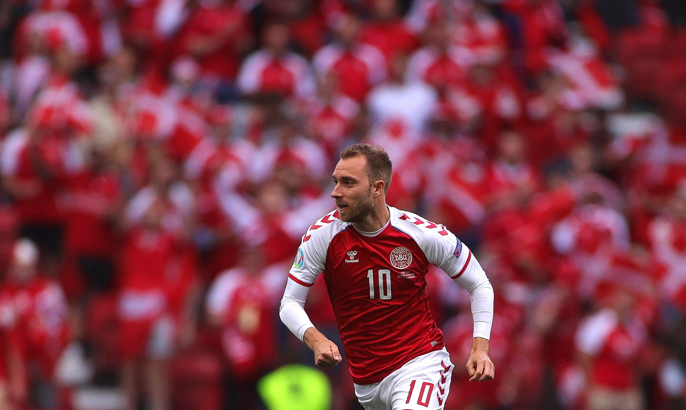 Эриксен признан лучшим игроком матча Дания  Финляндия