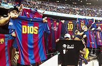Барселона, Лионель Месси, болельщики, Камп Ноу, Ла Лига