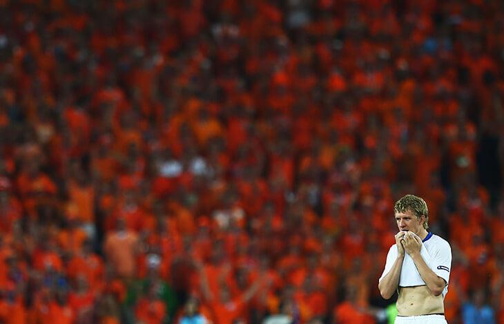 Ошибка судьи на Евро-2008, благодаря которой Россия прошла Голландию. Теперь ее разбирают как пример