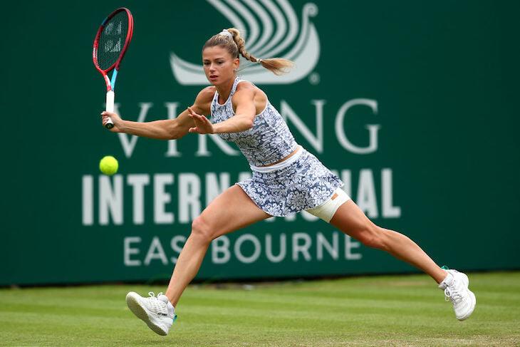 Джорджи провела лучший турнир в жизни и победила в Монреале. Хотя моду любит больше тенниса – за которым даже не следит