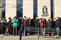 В Москве выстроилась очередь за кроссовками Канье Уэста ценой 18 тысяч