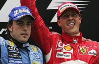 Михаэль Шумахер, Гран-при Китая, Феррари, Льюис Хэмилтон, Марк Уэббер, Формула-1