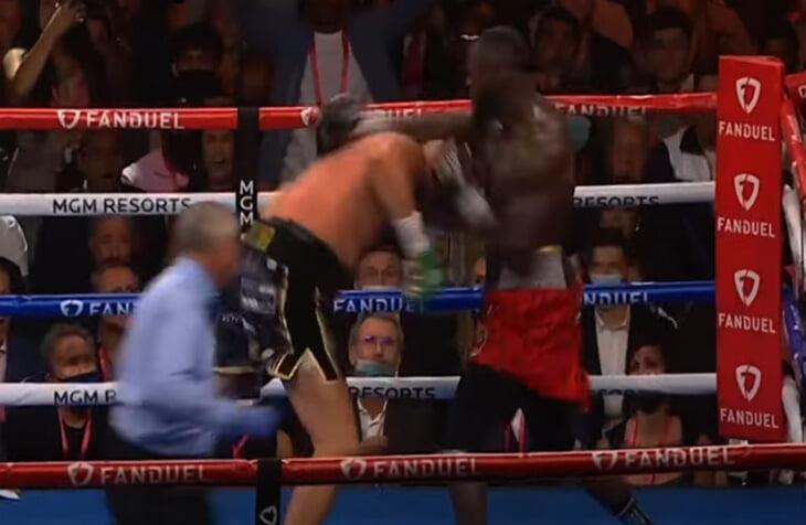 Видели 4 (!) нокдауна и брутальный нокаут в бою Фьюри – Уайлдер? Показываем и разбираем в деталях