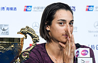 Каролин Гарсия, Мария Шарапова, WTA Finals, Йоханна Конта, ВТБ Кубок Кремля, WTA, бизнес