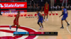 Trae Young sinks the shot at the buzzer