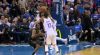 A great dime by Russell Westbrook leads to the score