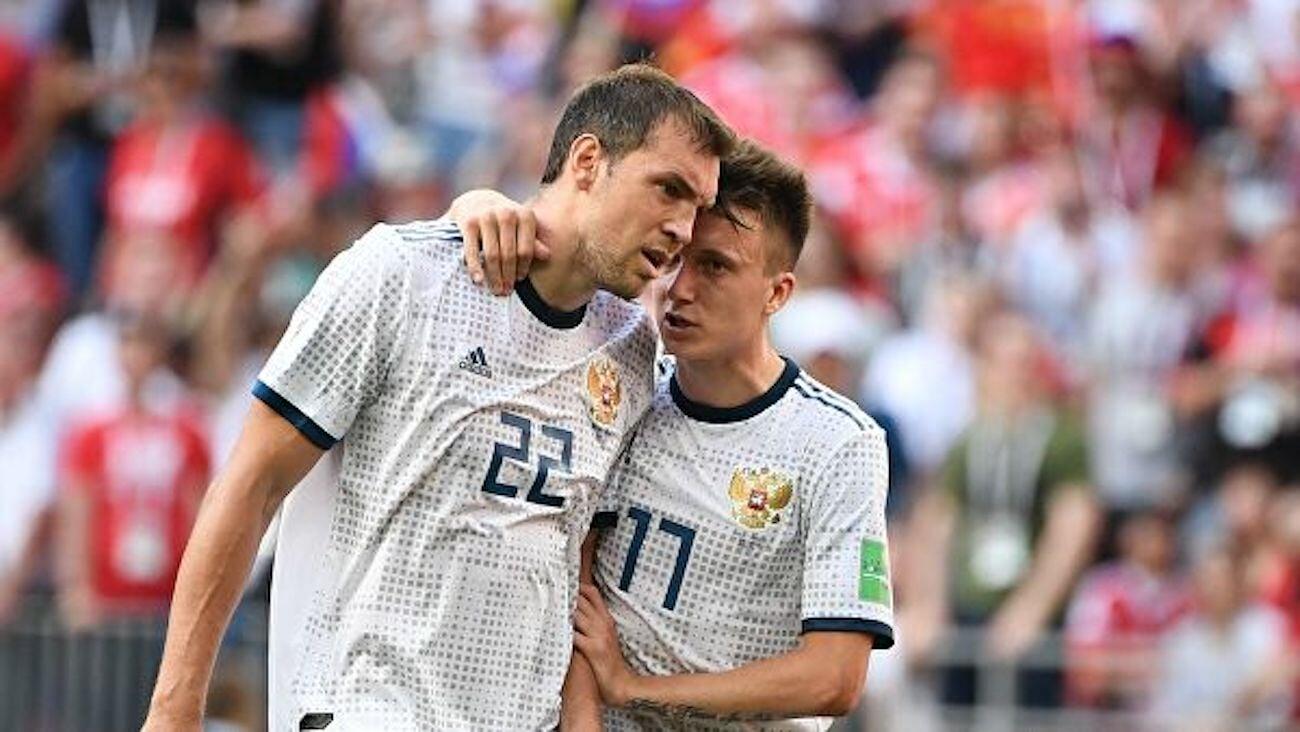 Станислав Черчесов: Связка Дзюба  Головин не сработала с Бельгией. Жирков и Кузяев должны были кое-что исполнять, но получили травмы