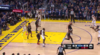 Stephen Curry gets it to go at the buzzer