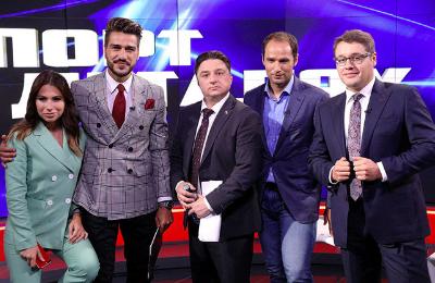 Губерниев, Арустамян и Генич снялись в сериале про российский футбол