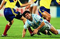 сборная Аргентины, Диего Марадона, Ринат Дасаев, Клаудио Джентиле