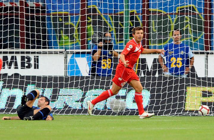 Виталий Кутузов забивает великому Интеру 2010 года.