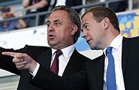Виталий Мутко, сборная России, Пхенчхан-2018, Дмитрий Медведев, сборная России жен