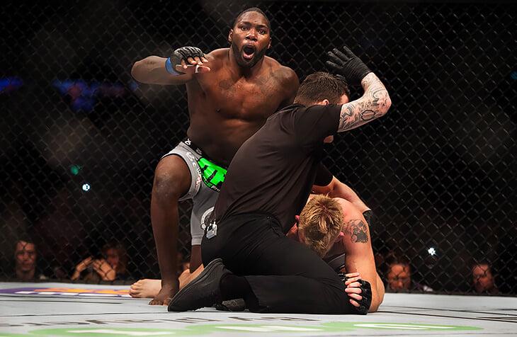 Бывшая звезда UFC выращивал лечебную марихуану, судился с женщинами и выступал в сумо. Теперь он возвращается в Гран-при Bellator