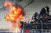высшая лига Греция, АЕК, Панатинаикос, болельщики, происшествия, Лига чемпионов УЕФА, Аякс