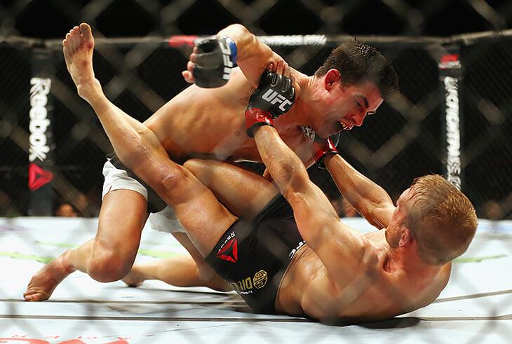 Экс-чемпион UFC Доминик Круз перенес десяток травм и операций и не дрался 4 года. На выходных он возвращается в дело