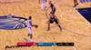 Reggie Jackson sinks the shot at the buzzer