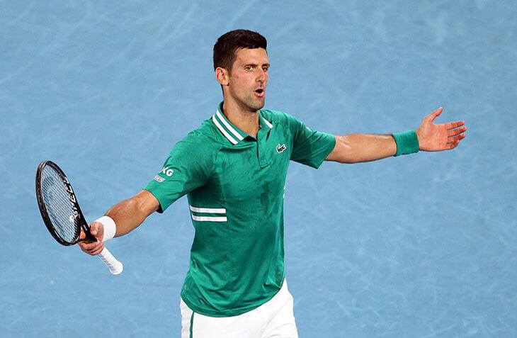 Карацев провел сенсационный Australian Open, но Джокович слишком силен