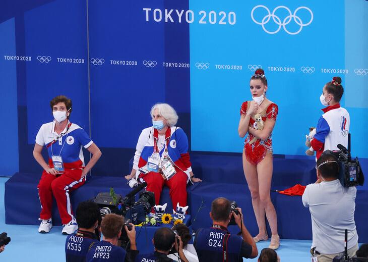 Арина Аверина, художественная гимнастика, Ирина Винер, Линой Ашрам, Дина Аверина, FIG, Олимпиада-2020, ВФХГ