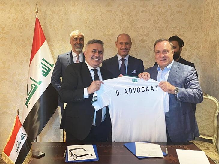 В мае Адвокат уже седьмой раз сказал, что завершает карьеру – а теперь возглавил сборную Ирака