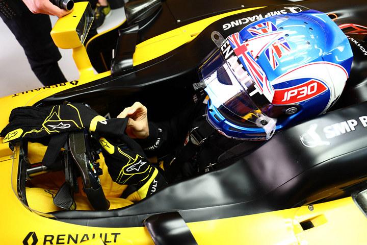 Рено, Формула-1, Джолион Палмер
