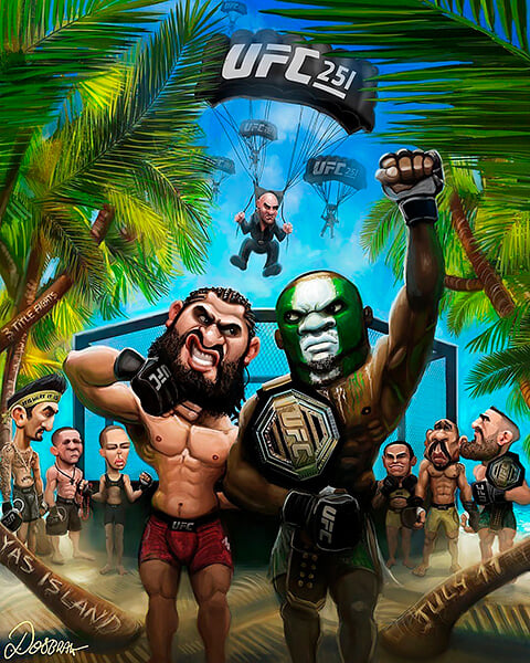 Онлайн UFC 251: Петр Ян – Жозе Альдо, Усман против Масвидаля и Волкановски – Холлоуэй. Три титульных боя!