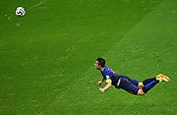 Ровно пять лет назад ван Перси забил один из лучших голов в истории ЧМ. Его полет в матче с Испанией – легенда