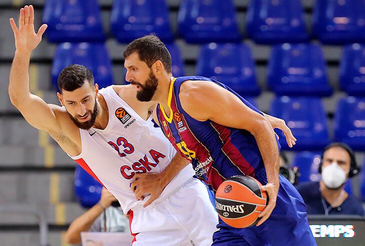 ЦСКА решил играть в несовременный баскетбол