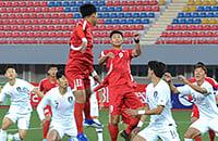 квалификация ЧМ-2022, Сборная КНДР по футболу, Сборная Южной Кореи по футболу