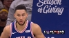 Ben Simmons rises up and throws it down
