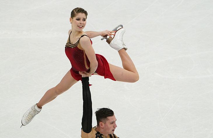 Мишина и Галлямов попали на ЧМ в последний момент – и взяли золото. 4 года назад от Насти ушел партнер, назвав ее тяжелой