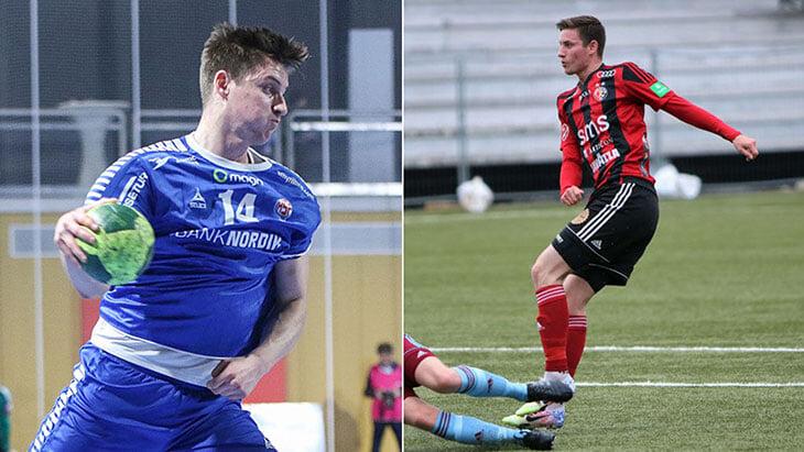 Фарерский гандболист дебютировал за футбольную сборную и отдал голевую. Он уже стал чемпионом страны, а теперь готовится к Лиге наций